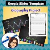 Biography Project - Google Slides & Graphic Organizer