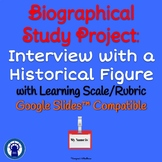 Biography Project: Interview with a Historical Figure for Google Slides™