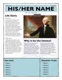 Biography Project Template