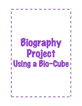 Biography Project Using a Bio-Cube