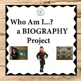 Biography Project | Text Evidence Reading Passage