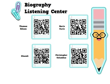 Biography QR Listening and Video Center