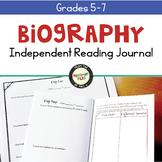 Biography Reading Response Journal