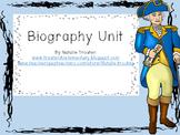 Biography Reading Unit