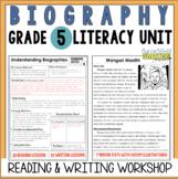 Biography Reading & Writing Unit Grade 5: 2nd Edition!!