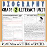 Biography Reading and Writing Unit: Grade 2...2nd Edition!!