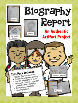 Biography Report and Research Project