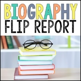 Biography Report Foldable Flip Book