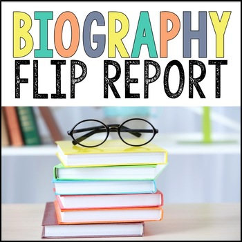 Biography Report Template A No Prep Foldable For Use With Any Biography