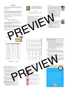 Biography Report: It's All About Who You Know! Informational Writing Template