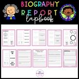 Biography Report LAPBOOK
