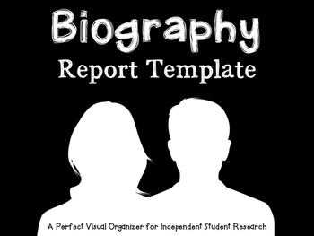 Biography Report Template
