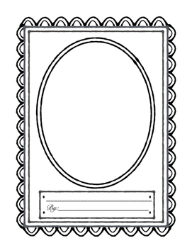 "Biography Report Template, ""My Famous Person Biography"""