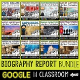 Biography Report and Informational Writing GOOGLE CLASSROO