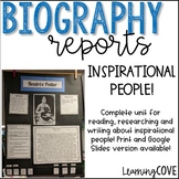 Biography Research Writing Reports - Who Was Series or Any book