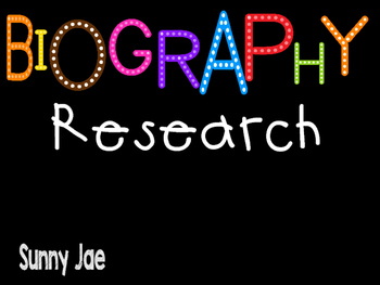 Biography- Research