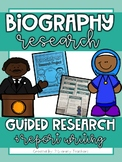 Biography Research: A Guided Research and Report Writing Pack