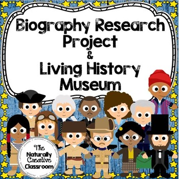 Biography Research Unit Bundle:  Anchor Charts, Examples, Grading & MORE!