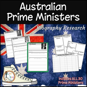 Biography Research Diary - Australian Prime Ministers