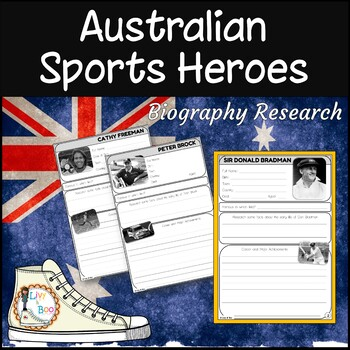 Biography Research Diary - Australian Sporting Heroes