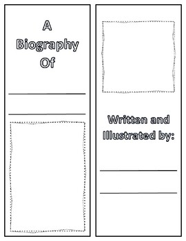 Biography Research Lapbook