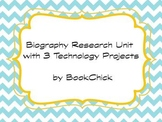 Biography Research Pack with 3 Technology Projects