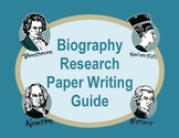 Biography Research Paper
