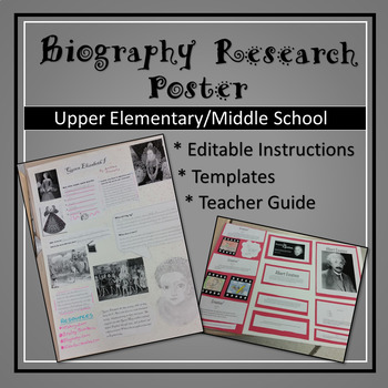 Biography Research Poster