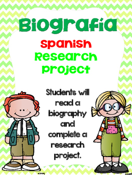 Biography Research Project/ Biografia Proyecto