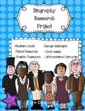 Biography Research Project FREE