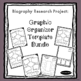 Biography Research Project Graphic Organizers - For Any Hi