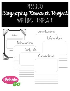 Biography Research Project | PebbleGo