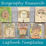 Biography Research Project With Biography Lapbook Templates