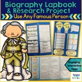 Biography Research Project and Lapbook {Use with Any Famou