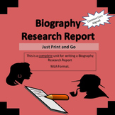 Biography Research Report