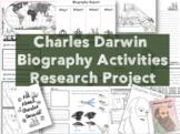 Biography Research Report / Charles Darwin Biography worksheet