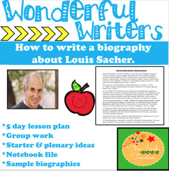 Biography Research Report- Louis Sacher