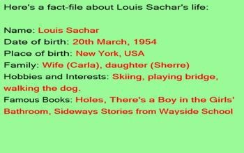 Biography Research Report- Louis Sacher