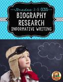 Biography Research Report: Multi-Draft Informative Writing