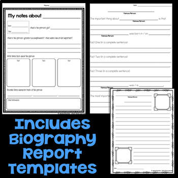 Biography Reports   Research Historical Figures   Biography Research QR Codes