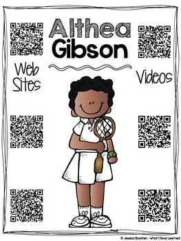Biography Research Reports {QR Codes & Scaffolding} - Women Leaders