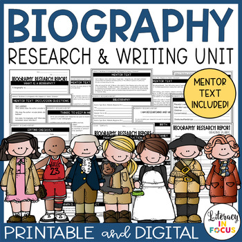Biography Research Template and Project