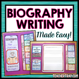 Biography Research Writing Lapbook (For Any Person!)