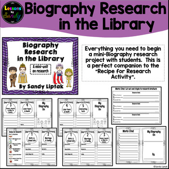 Biography Research in the Library