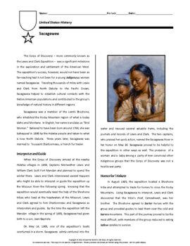 Biography: Sacagawea