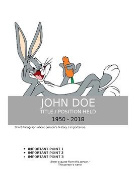 Biography Spotlight Poster