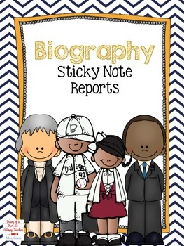 Biography Sticky Note Report