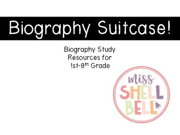 Biography Study Suitcase