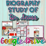 Biography Study of Dr. Seuss Activity {Digital}