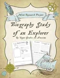 Biography Study of an Explorer